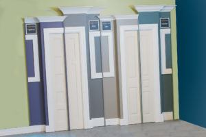 Our signature series moulding display