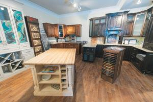 Overview of our Cabinet showroom