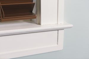 Detail of signature series casing and sill