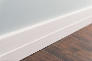 Detail of signature series baseboard moulding