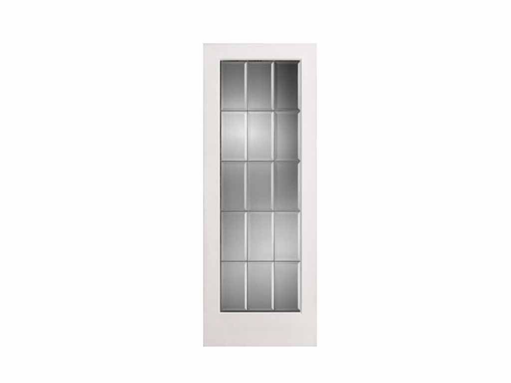 Beveled Glass French Door